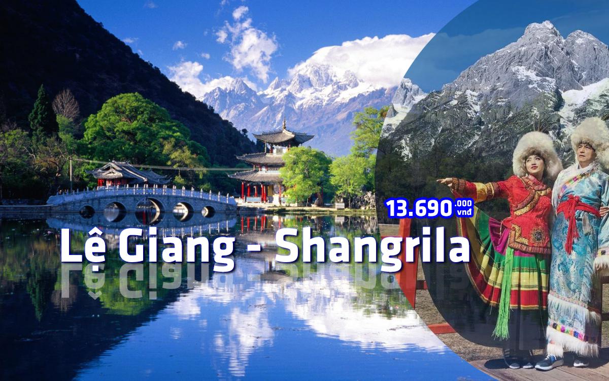 DU LỊCH TRUNG QUỐC: LỆ GIANG - SHANGRILA