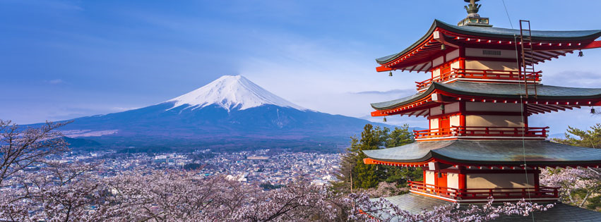 DU LỊCH NHẬT BẢN FREE & EASY : HÀ NỘI – TOKYO – PHÚ SĨ 4N3Đ