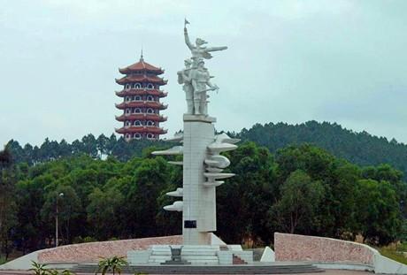 Đền Thờ Đức Thánh Hoàng Mười-  Đền Thờ Nguyễn Du – Ngã ba Đồng Lộc