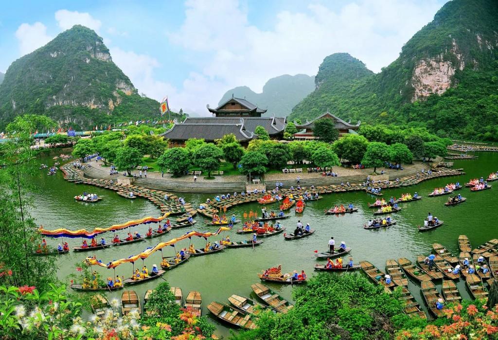 Du lịch tâm linh: Chùa Bái Đính – Khu du lịch Tràng An
